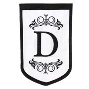 Evergreen Enterprises, Inc Regalia Monogram Garden Flag