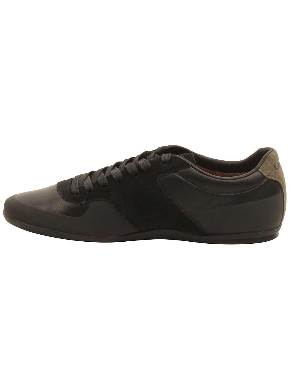 Lacoste Mens Turnier 117 Sneakers in Black