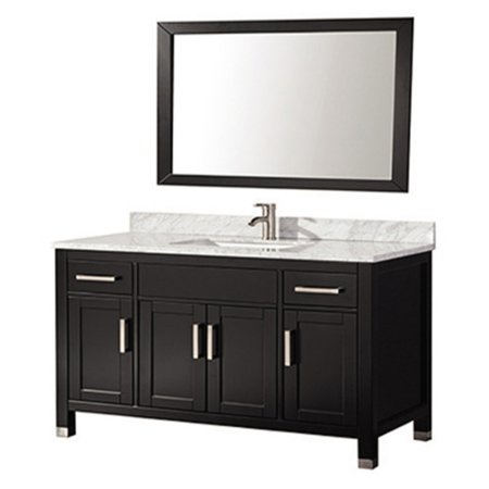 Mtd vanities ricca 60 in single sink bathroom vanity set - Walmart bathroom vanities with sink ...