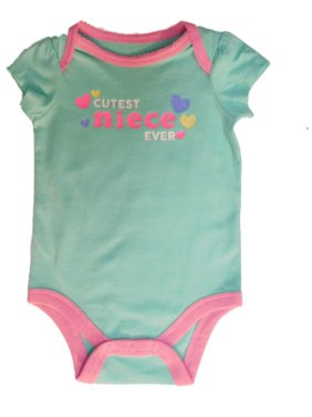 d9310560a3d6c Product Image Jumping Beans Infant Girls Cutest Niece Ever Short Sleeve  Creeper Bodysuit