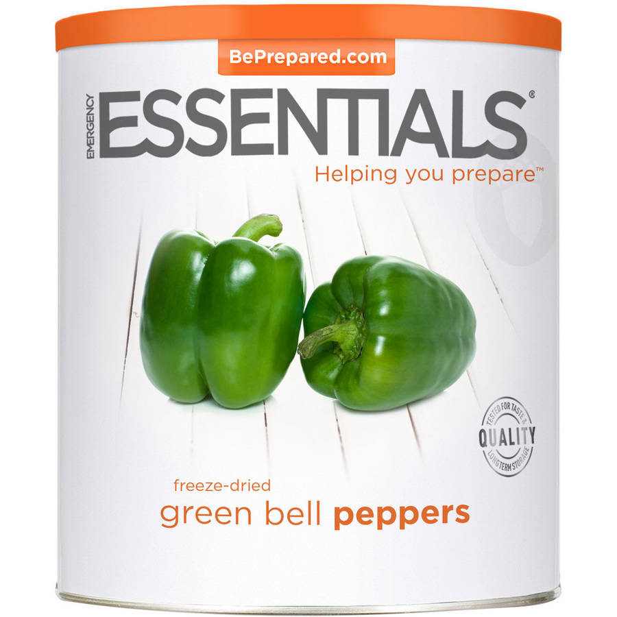 Emergency Essentials Freeze-Dried Green Bell Peppers, 4 oz by Emergency Essentials