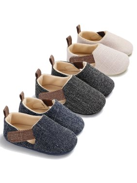 Baby Soft Sole Crib Shoes Infant Boy Toddler Sneaker Anti-Slip 0-18 Months