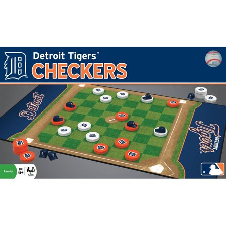 Mlb Detroit Tigers Team Checkers