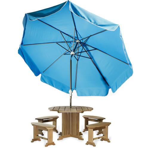 All Things Cedar 10' Java Teak Drape Umbrella