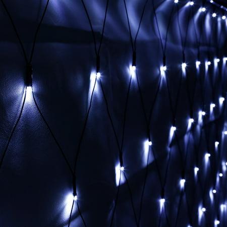Led Net Lights - TORCHSTAR 9.84ft x 6.56ft Christams Net Lights, 204 LEDs Daylight