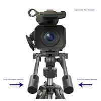 Professional Dual Handle Aluminum 67 Tripod (Bubble Level) For Canon EOS 5D Mark IV