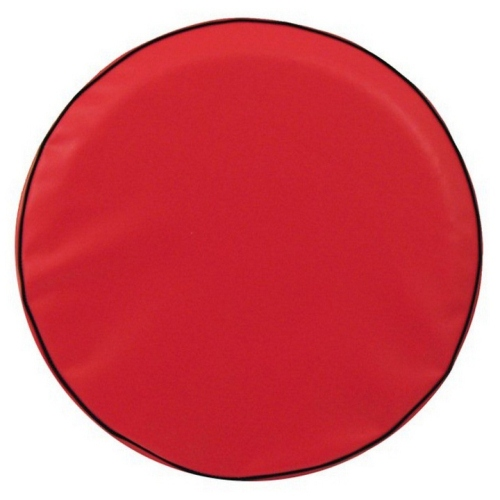 Tire Cover by Holland Bar Stool - Plain Red, 21.50'' x 8''