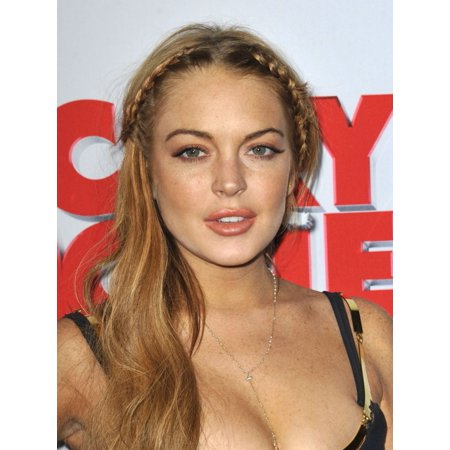 Lindsay Lohan At Arrivals For Scary Movie 5 Premiere Cinerama Dome At The Arclight Hollywood Los Angeles Ca April 11 2013 Photo By Dee Cerconeeverett Collection Photo Print