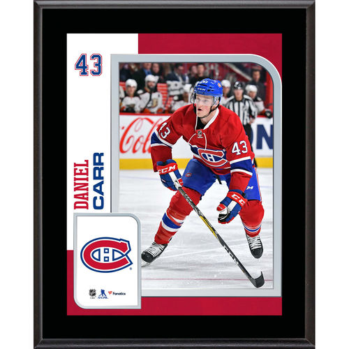"Daniel Carr Montreal Canadiens 10.5"" x 13"" Sublimated Player Plaque - No Size"