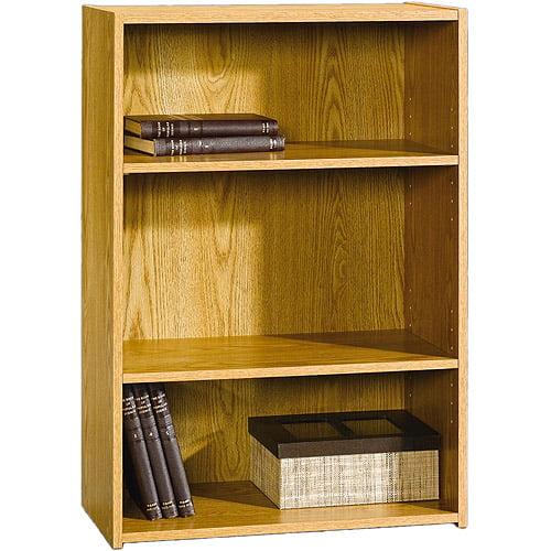 Sauder Beginnings 3-Shelf Bookcase, Multiple Finishes