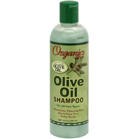 Africa's Best Olive Oil Shampoo 12 oz (Pack of 2)