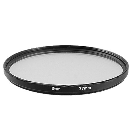 - Photography Lens Protector Star 6 Effect 77mm Filter
