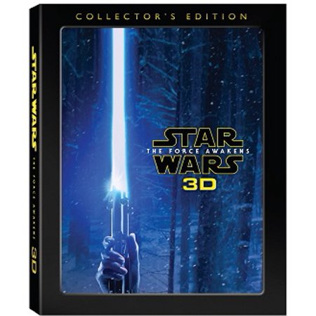 Star Wars: The Force Awakens (Collector's Edition) (3D Blu-ray + Blu-ray + DVD + Digital -