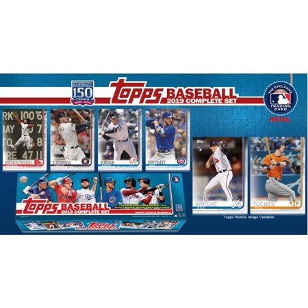 2019 Topps Baseball Complete Set 700 2019 Topp Series 1 Series 2 Baseball Trading Cards 5 Rookie Variation Cards