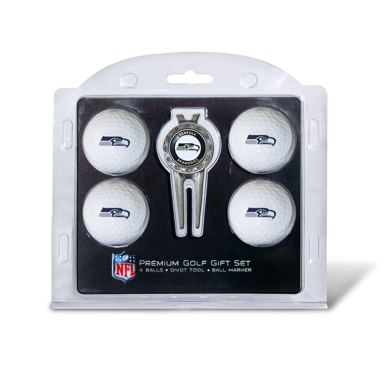 Team Golf 30006 Arizona Cardinals Pack of 4 Golf Balls and Divet Tool Gift Set