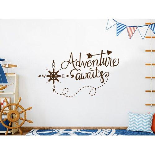 Harriet Bee Adventure Awaits Nautical Comp Nursery Wall