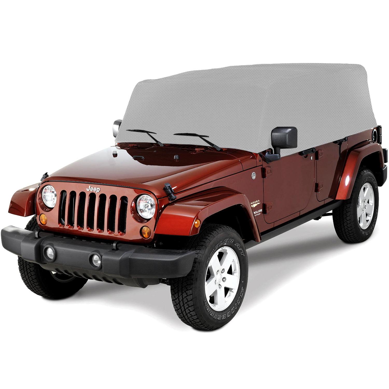 Outland 391331709 Gray Cab Cover for Jeep JK Wrangler