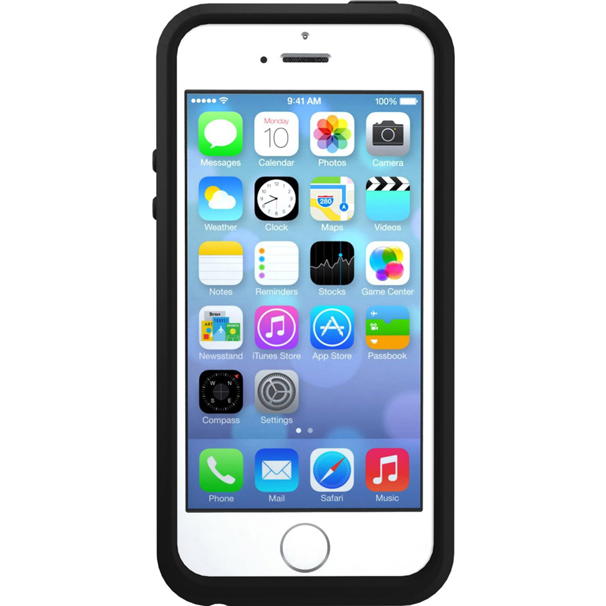 iPhone 5/5SE/5S Otterbox apple iphone case symmetry series, black