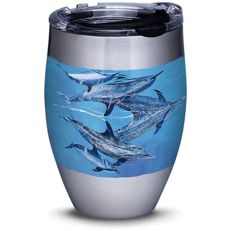 Tervis 12 oz. Stainless Steel Guy Harvey Dolphin Tumbler One Size Blue