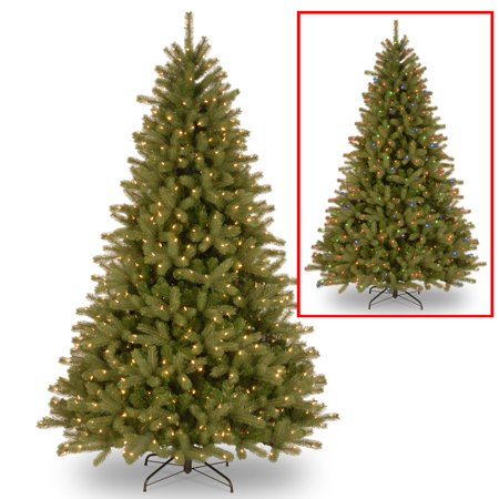 9 Lakewood Spruce Tree With Dual Color Led Lights