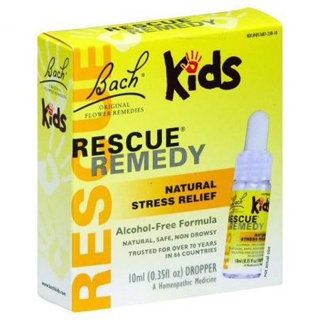 Historical Remedies Calm Drops - Bach Kids Rescue Remedy Homeopathic Drops, 0.35 Fl Oz