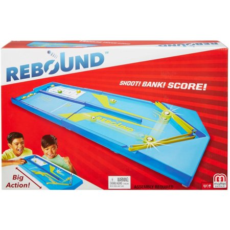 Rebound Tabletop Aim-and-Score Puck-Sliding Game for Ages (Best Tabletop Role Playing Games)