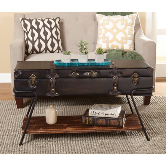 Trunk Coffee Table Plans: Trunk Coffee Table