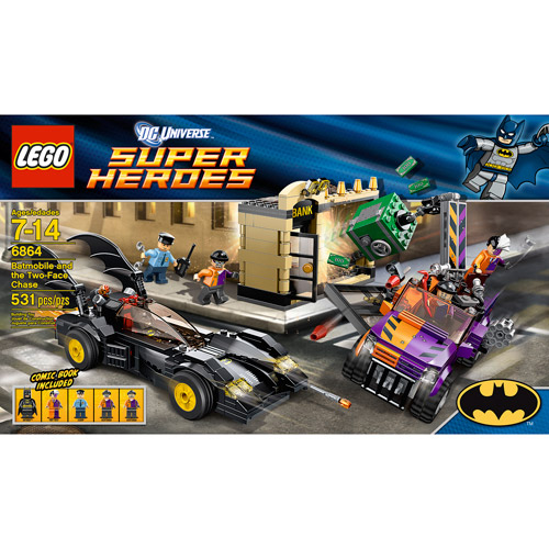 LEGO Super Heroes Batmobile and the Two-Face Chase