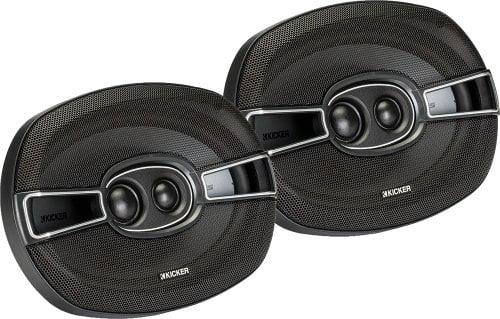 Kicker 2 New 41KSC6934 6x9 3-Way 300 Watt Car Audio Coaxial Speakers KSC693