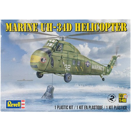 Plastic Model Kit, Marine UH-34 D Helicopter, 1/48 Helicopter Training Kit