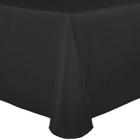 4dr Red Clear Led - Ultimate Textile Bridal Satin 108 x 132-Inch Rectangular Tablecloth