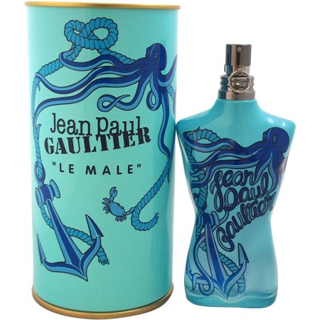 Le Male by Jean Paul Gaultier for Men - 4.2 oz Cologne Tonique Spray (Stimulating Summer Fragrance) (2014 Edition)