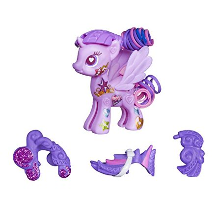 Pop Princess Twilight Sparkle Style Kit, Build your own pony with the Princess Twilight Sparkle Style Kit By My Little
