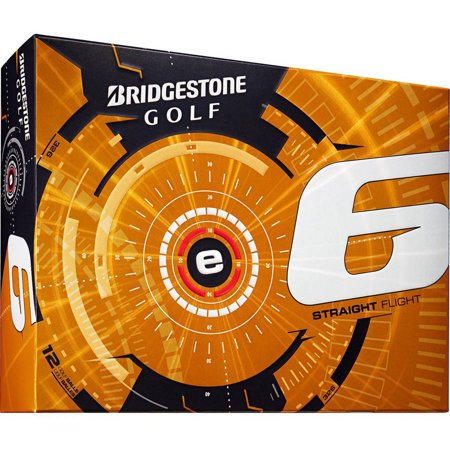 Bridgestone Golf e6 Golf Balls, 12 Pack