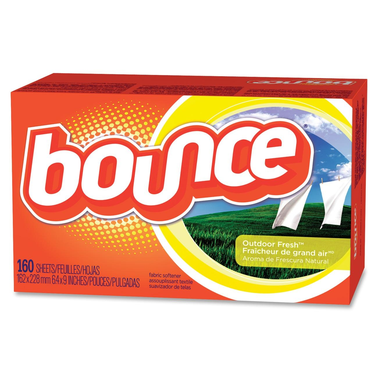 P&g Bounce Dryer Sheet - Wipe - Orange (PAG80168)
