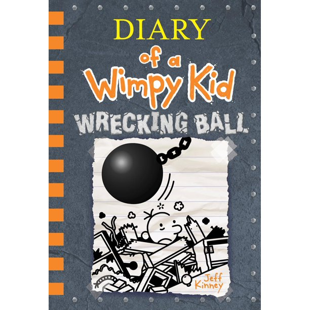 Diary Of A Wimpy Kid Wrecking Ball Book 14 Walmart Com Walmart Com