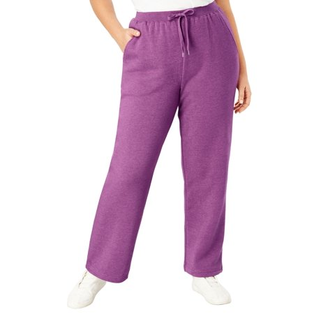 Woman Within Plus Size Tall Better Fleece Sweatpant