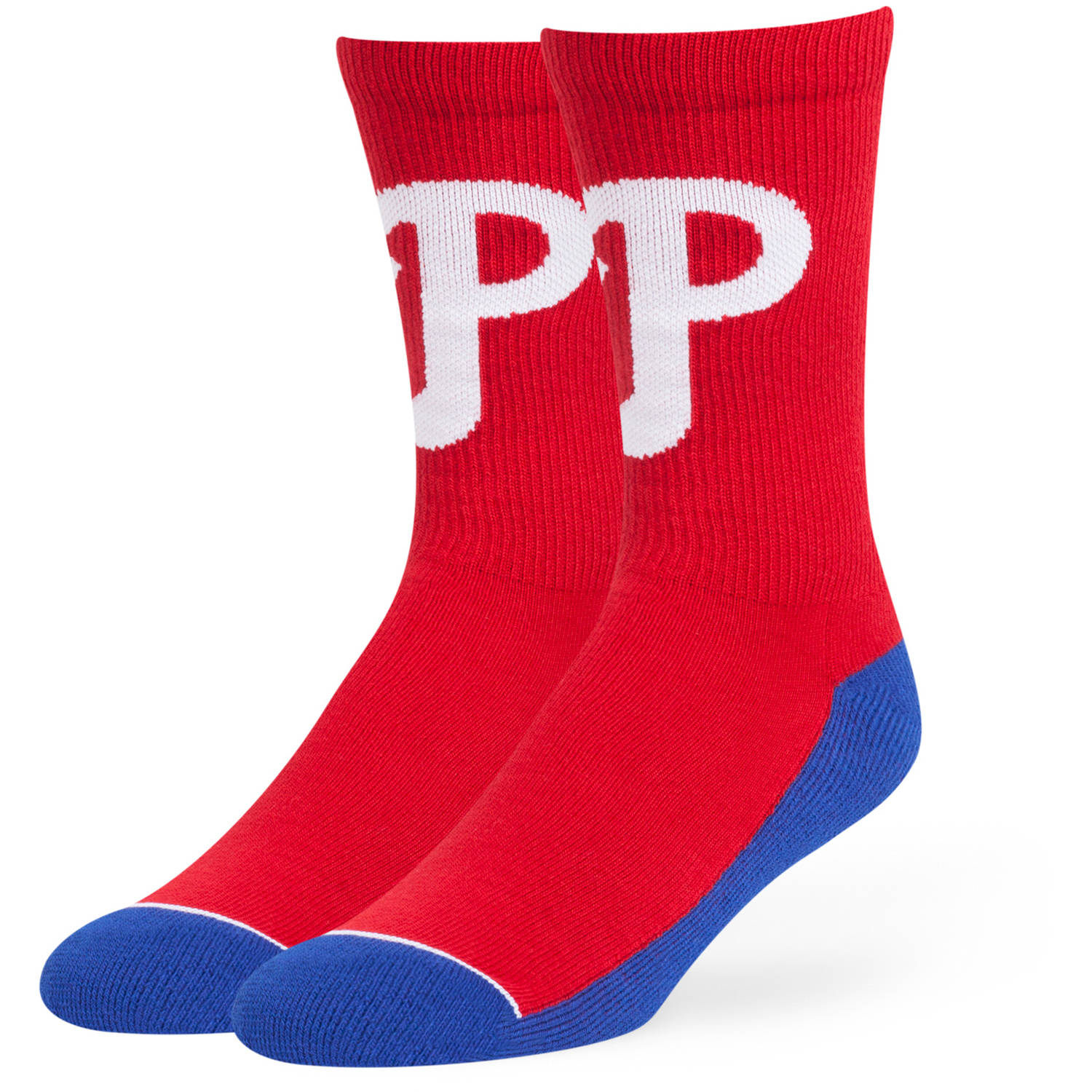 MLB Philadelphia Phillies Arena Crew Socks - Fan Favorite
