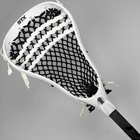 - STX Stinger Full Junior Lacrosse Stick - White / Black