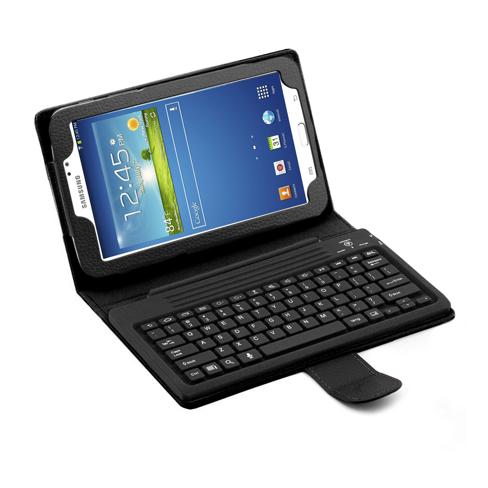 "Bluetooth Keyboard Folio for Samsung Galaxy Tab 3 7.0"" Tablet (87458)"
