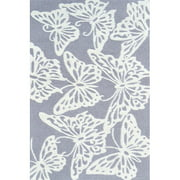 The Rug Market Multi Butterfly Grey Size 2.8' x 4.8' Area Rug