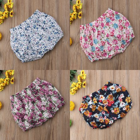 Baby Girl Lovely Floral Printed Short Pants Kids Spring Summer Fashion shorts