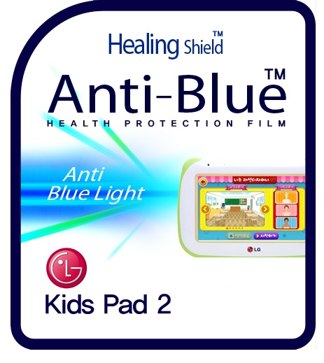 Healingshield Screen Protector Eye Protection Anti UV Blue Ray Film for Lg Tablet Kids Pad 2 ET720