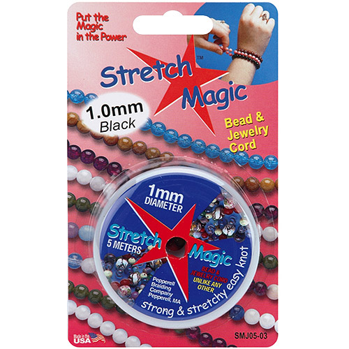 Stretch Magic Bead and Jewelry Cord, 1mm, 5m