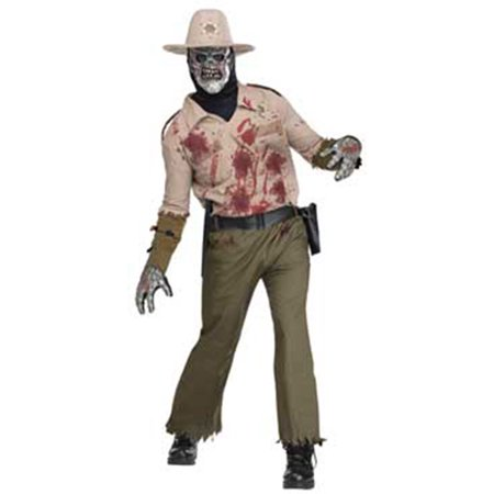 Adult Zombie Sheriff Costume by FunWorld 131494