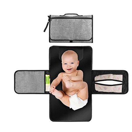Iuhan Nappy Changing Mat Waterproof Diaper Baby Changing Kit For Home Travel