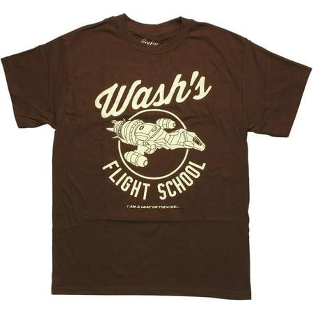Firefly Wash's Flight School (First Flight T-shirt)