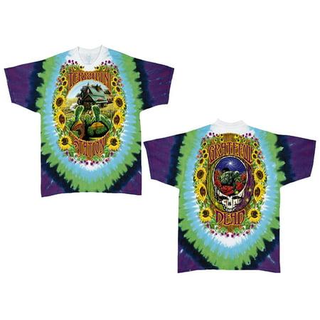 8ed8f4a7c986c0 Grateful Dead - Grateful Dead Terrapin Station Adult Tie Dye T-Shirt -  Walmart.com