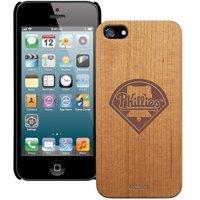 Philadelphia Phillies Wooden iPhone 5 Primary Case - No Size