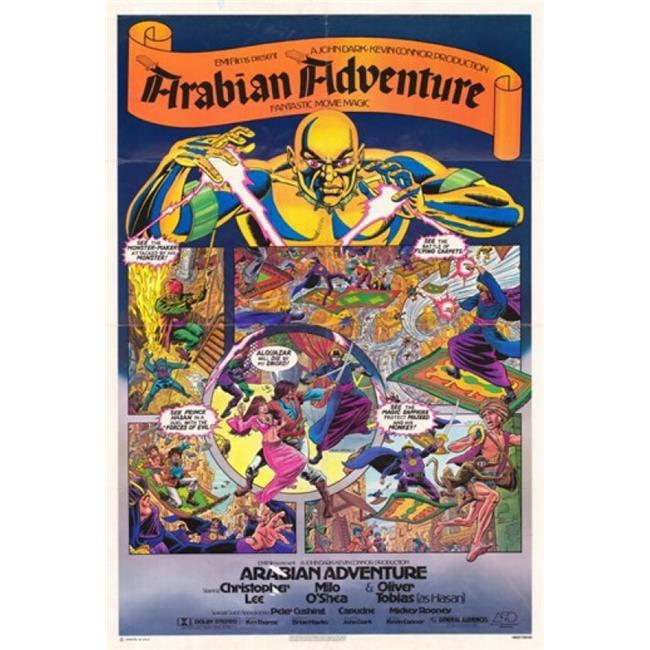 Posterazzi MOV233149 Arabian Adventure Movie Poster - 11 x 17 in. - image 1 de 1